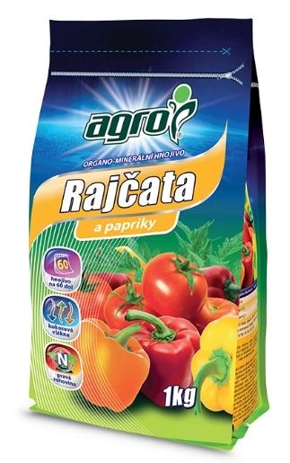 AGRO CS a.s. AGRO hnojivo pro rajčata a papriky - 1kg