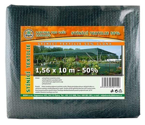BIOM s.r.o. Stínící tkanina 1,56 x 10 m - 50%