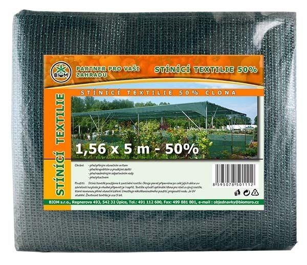 BIOM s.r.o. Stínící tkanina 1,56 x 5 m - 50%