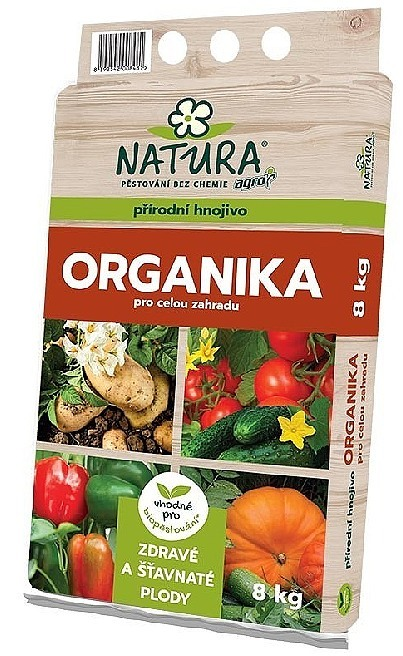 AGRO CS a.s. ORGANIKA pro celou zahradu