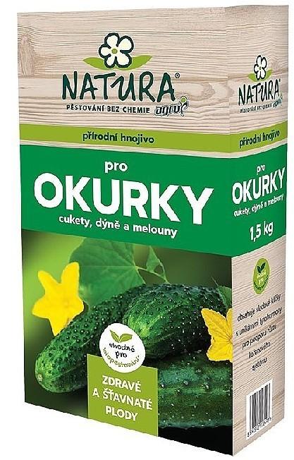 AGRO CS a.s. Organické hnojivo pro okurky, cukety, dýně a melouny