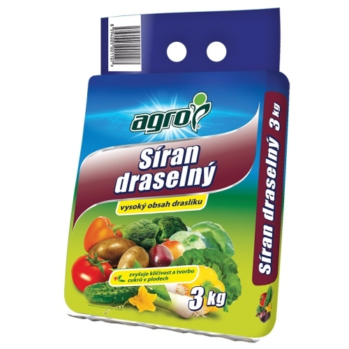 AGRO CS a.s. Síran draselný 3kg