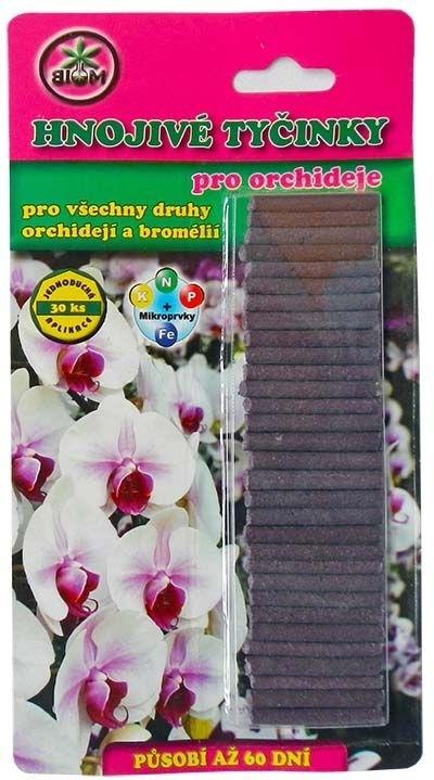 BIOM s.r.o. Tyčinkové hnojivo pro orchideje