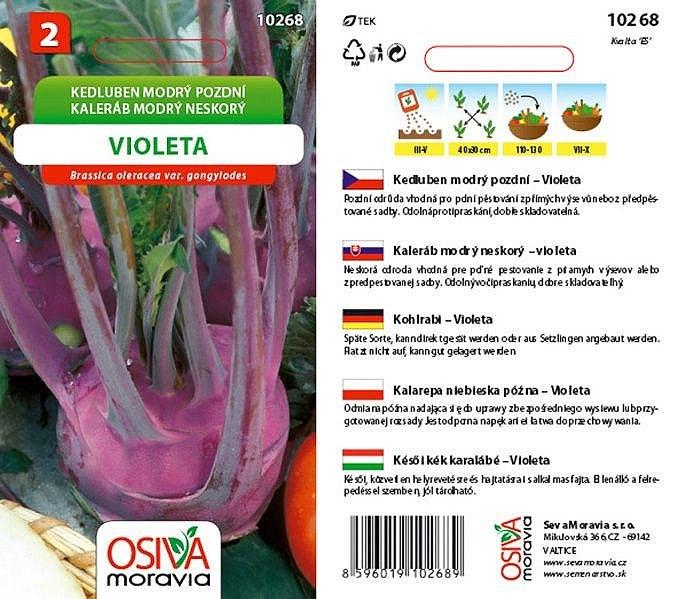 Seva Moravia s.r.o. VALTICE Kedluben VIOLETA