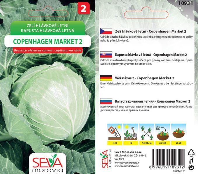 Seva Moravia s.r.o. VALTICE Hlávkové zelí COPENHAGEN MARKET 2