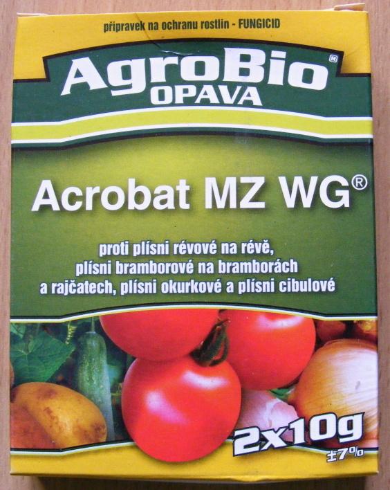 AgroBio Opava Acrobat MZ WG 2 x 10 g